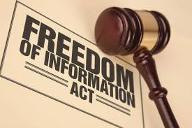 What is the Freedom of Information declaration