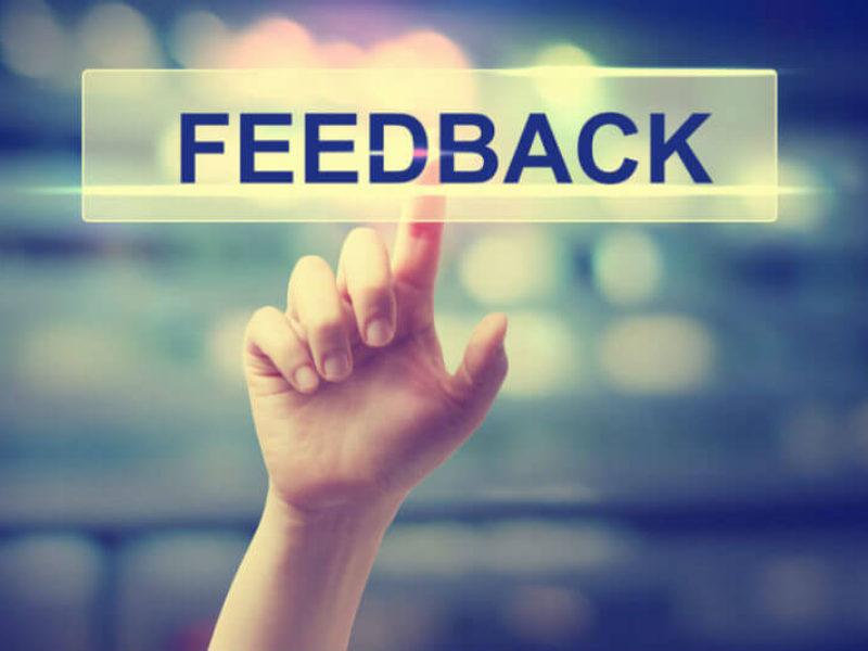 tender feedback